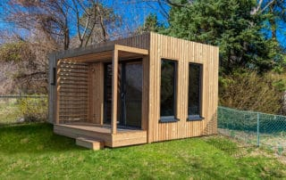 Edencube studio de jardin 18m2 au fond du jardin