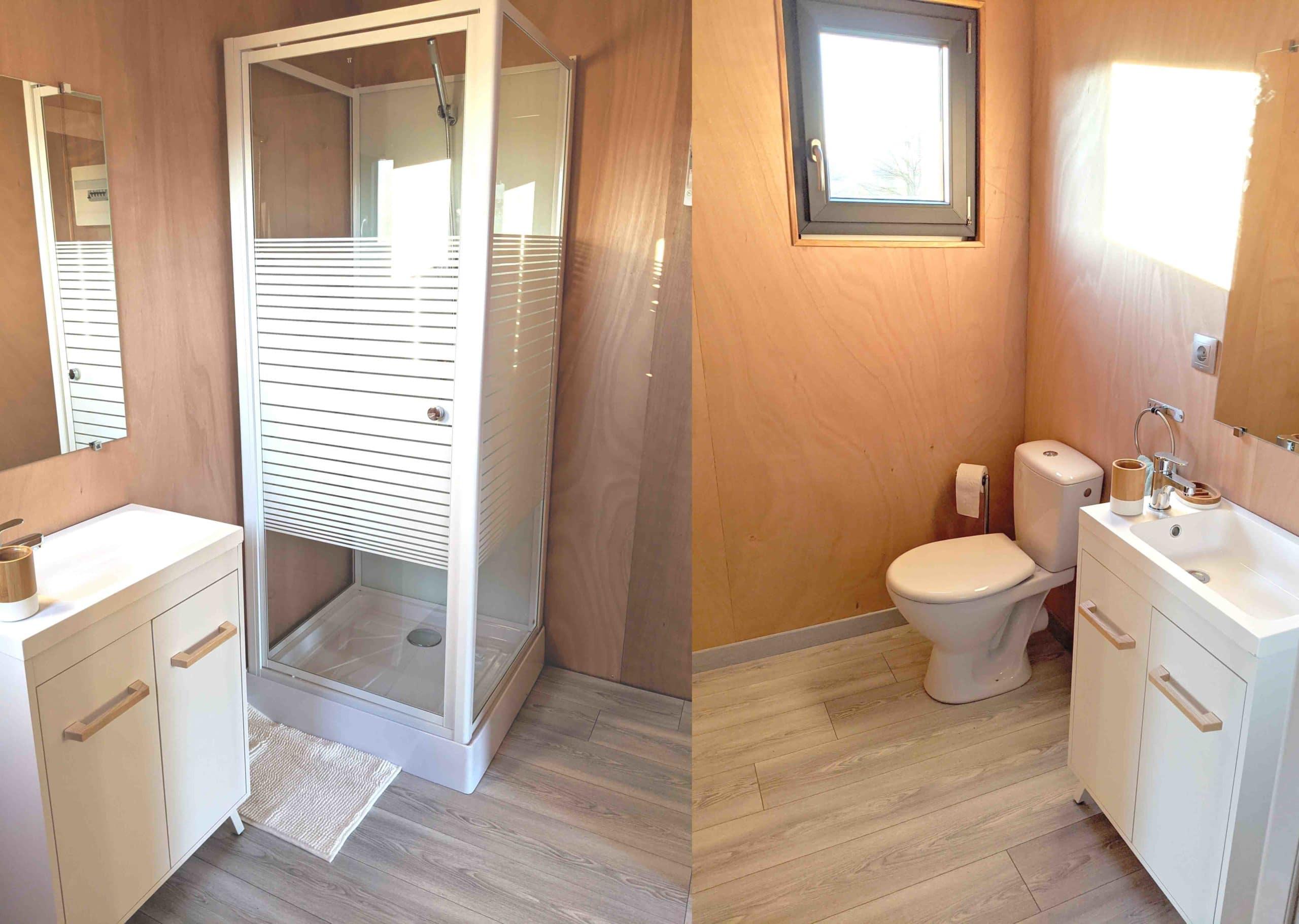 Salle de bain studio EdenCube