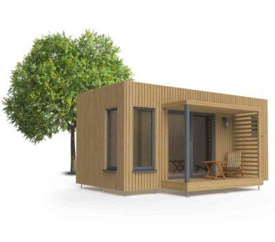 Studio de jardin EdenCube 18m2