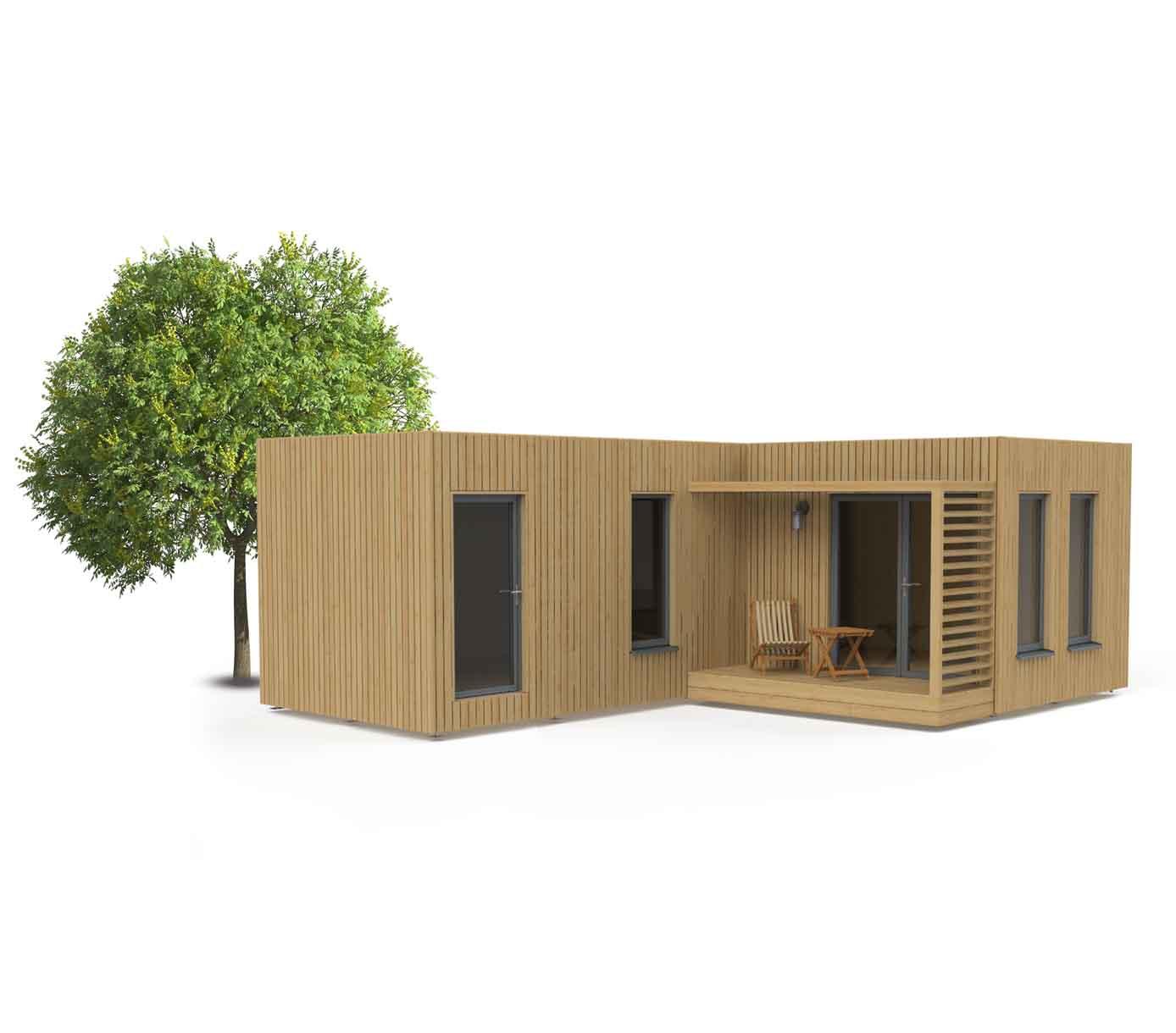 Studio de jardin EdenCube 30m2