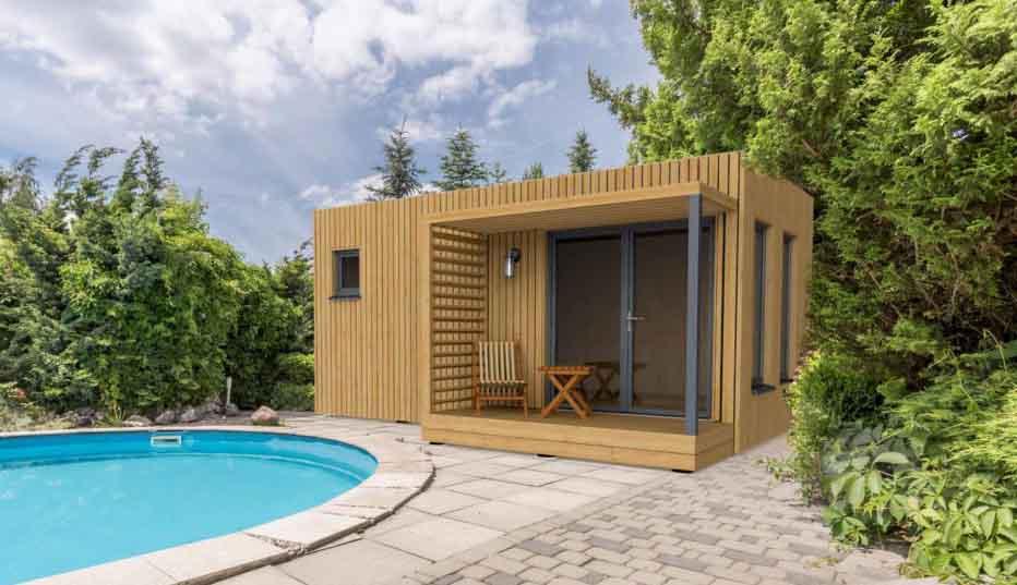 EdenCube Pool house piscine