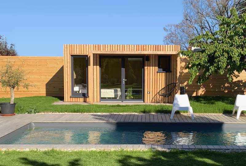 Studio EdenCube Pool house